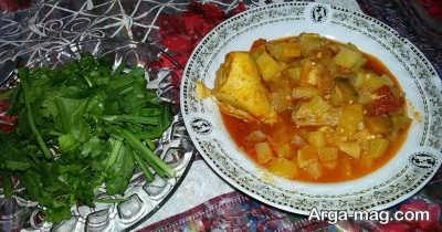 طرز تهیه تاس کباب با مرغ