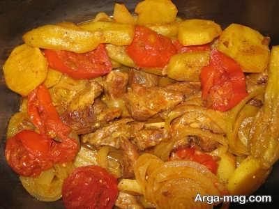 دستور پخت تاس کباب