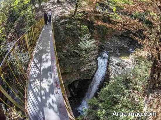 دیدنی های آبشار ویسادار