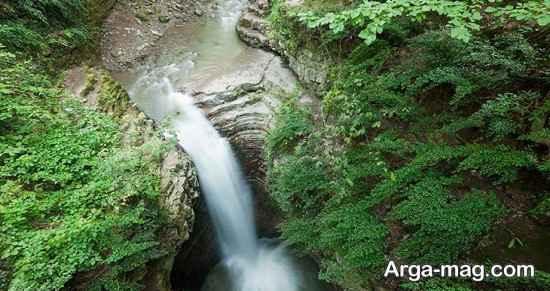 آبشار جذاب ویسادار
