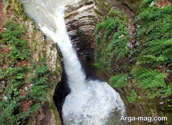 آبشار مرتفع ویسادار