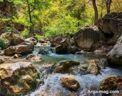 زیبایی طبیعی و خیره کننده اخلمد