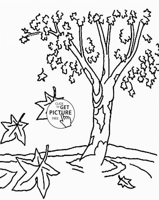 رنگ آمیزی درخت