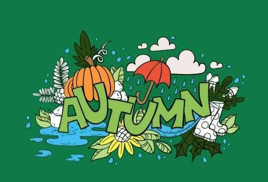 رنگ آمیزی پاییزی