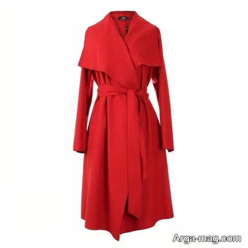 پالتوی قرمز زنانه
