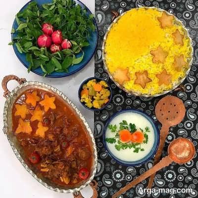 منوی غذایی پاییزی