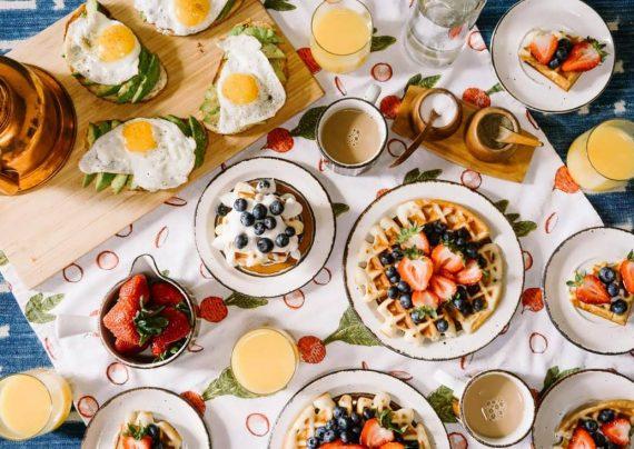 تزیین صبحانه کودک ایرانی