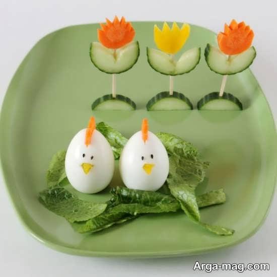 ایده فوق العاده زیبا برای تزیین صبحانه کودکان
