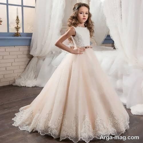 لباس عروس بلند دخترانه