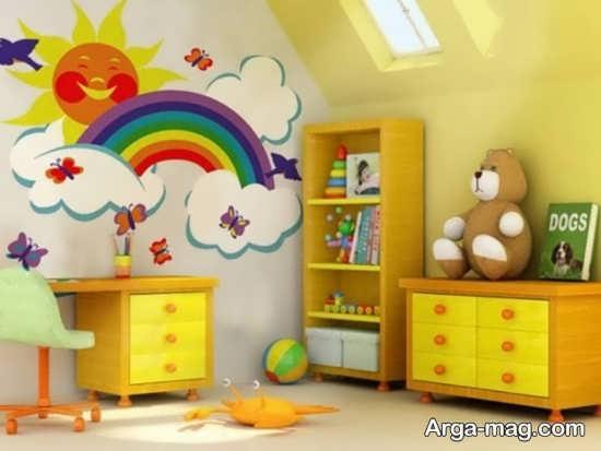 دیزاین دیوار اتاق بچه