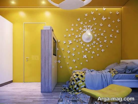 دیزاین دیوار اتاق کودک