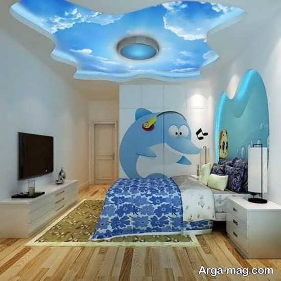 تزئین جدید دیوار اتاق نوزاد