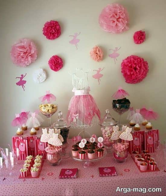 ایده هایی برای تزیین جشن تولد