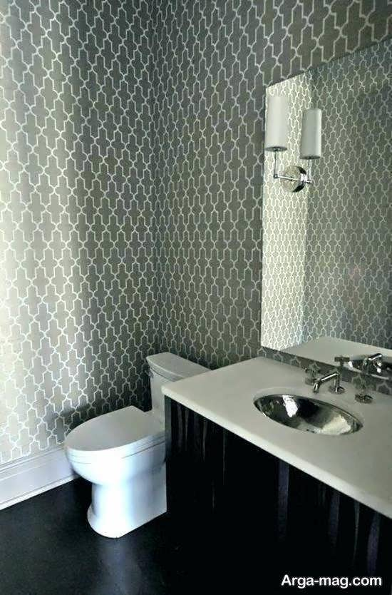 کلکسیون متنوع و مدرن کاغذ دیواری حمام و دستشویی