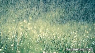 متن زیبا درباره باران