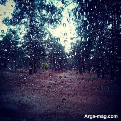 متن زیبا و ناب درباره باران