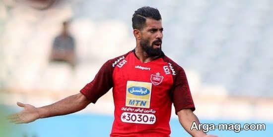 حسین کنعانی زادگان فوتبالیست جوان