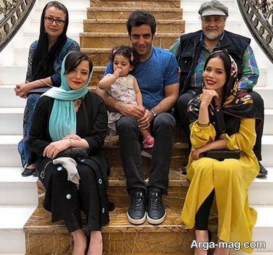 تصاویر خانوادگی ملیکا شریفی نیا به همراه بیوگرافی وی