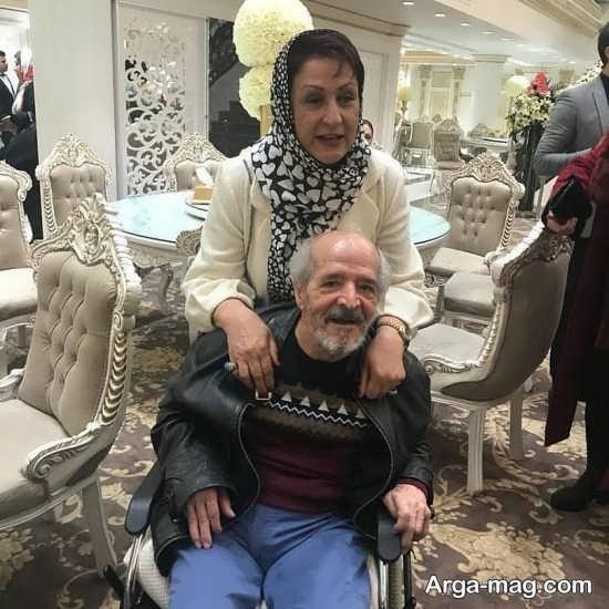 عکس زیبا و بیوگرافی محسن قاضی مرادی