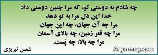 بیوگرافی شمس تبریزی درویش گمنامی که مولوی دیوانه او شد