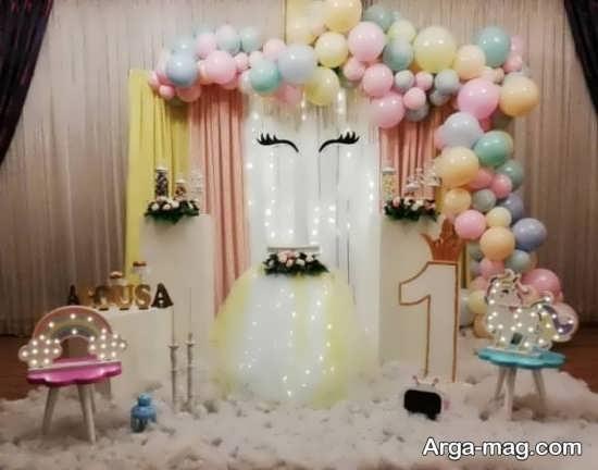 تزئین جدید تولد با بادکنک