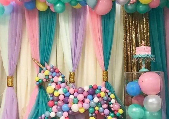 تزیین تولد با بادکنک