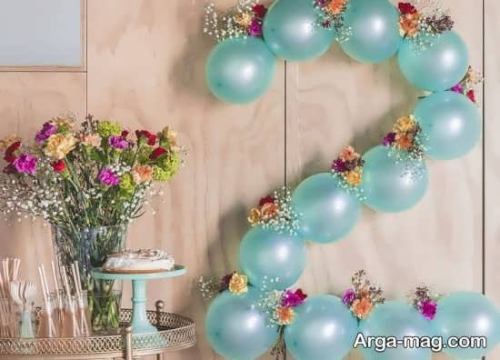 تزیینات تولد با بادکنک