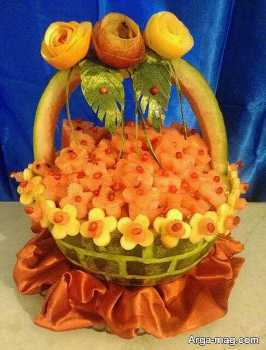 میوه آرایی خاص تولد
