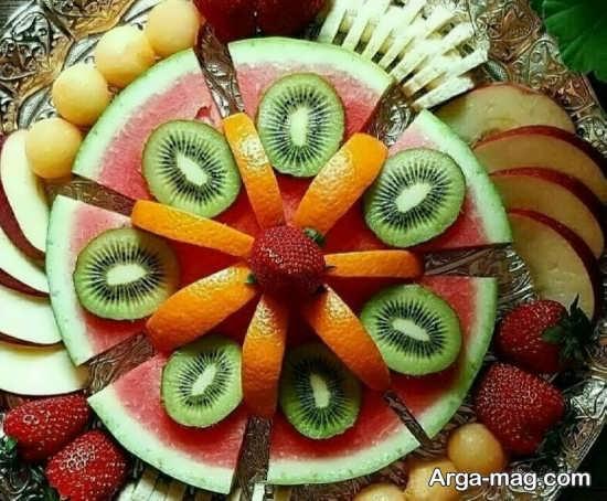 میوه آرایی زیبای تولد