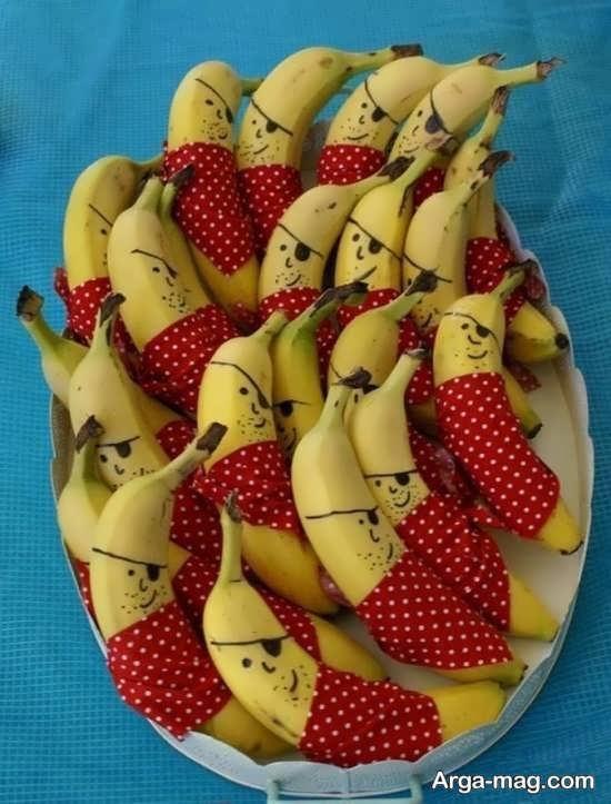 تزیین شیک میوه تولد