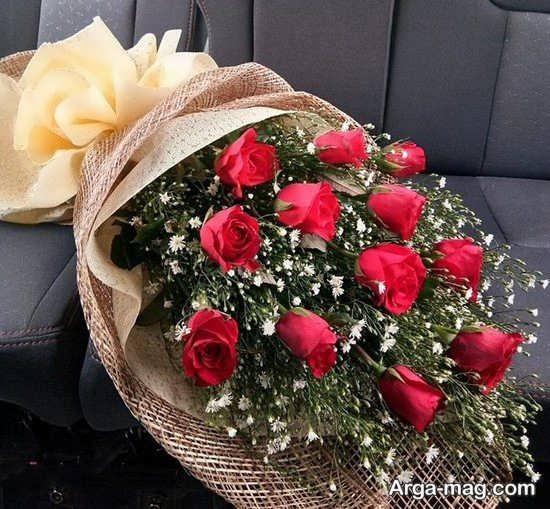 گل آرایی زیبای گل های رز