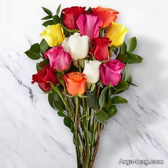 دسته گل زیبای تولد+تصویر