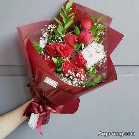 گل های دسته شده زیبا