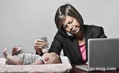 نگهداری شیر مادران شاغل