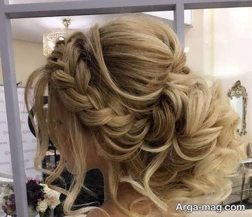 مدل بافت موی شیک عروس