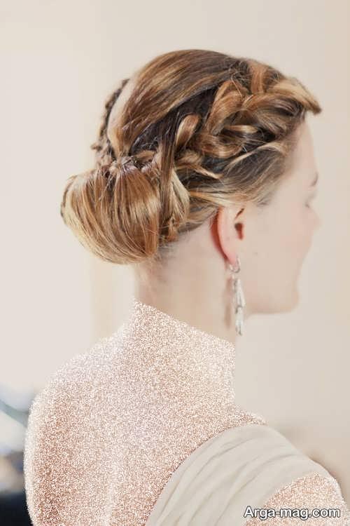 بافت مو شیک و زیبا عروس