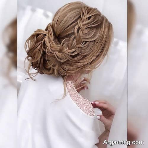 بافت مو عروس