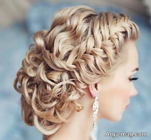 مدل بافت مو عروس