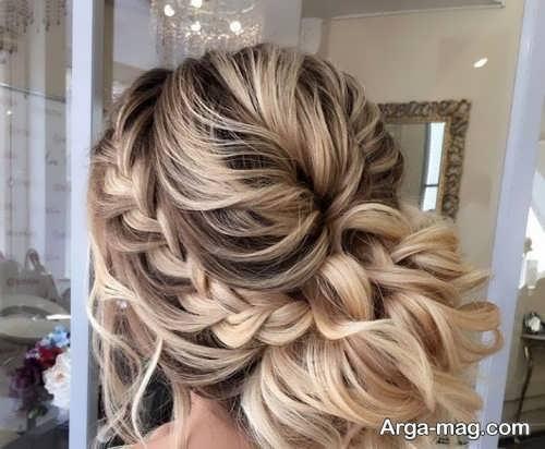 بافت موی عروس