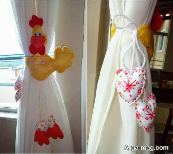 تزئینات نمدی زیبا برای جهیزیه عروس