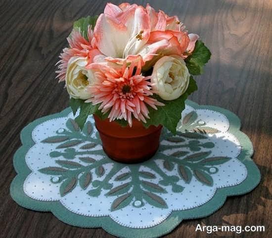 تزئینات نمدی خاص برای جهیزیه عروس