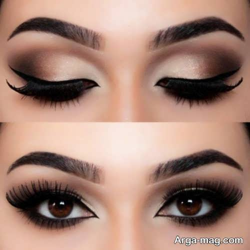 مدل میکاپ چشم زیبا