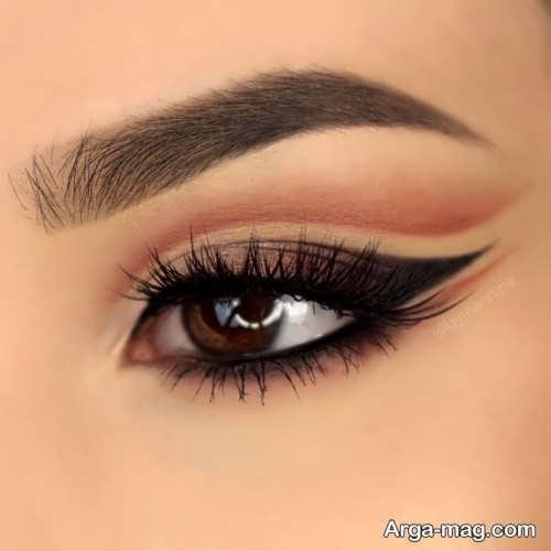 مدل حط چشم برای چشم های قهوه ای