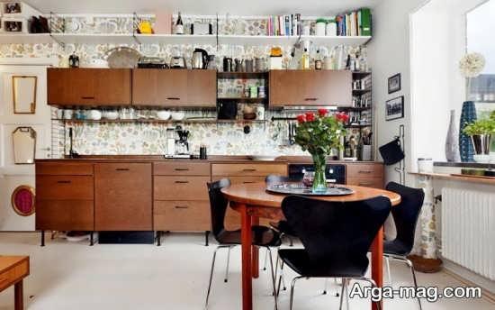 تزئین و طراحی کابینت