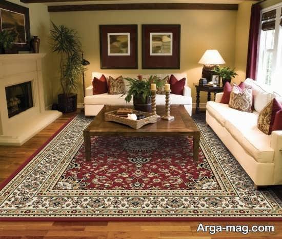 فرش اتاق پذیرایی