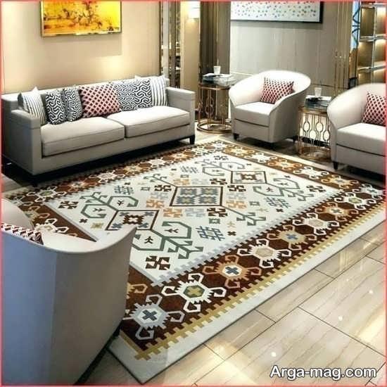 فرش زیبا و طرح دار