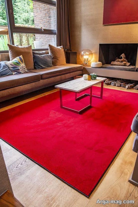 فرش ساده