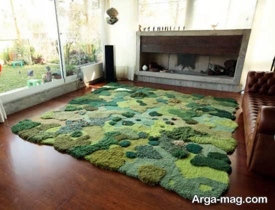 فرش شیک و فانتزی