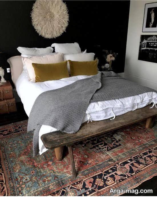فرش سنتی برای اتاق خواب