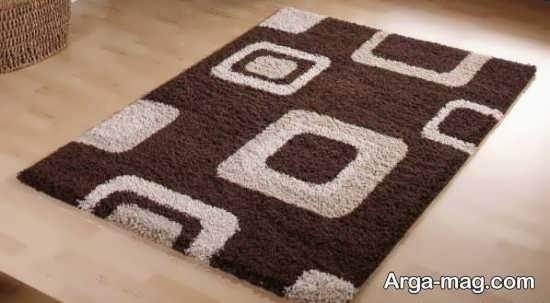 فرش دو رنگ